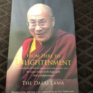 Enlightenment the Dalai Lama Book